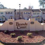 Brany Court Sign